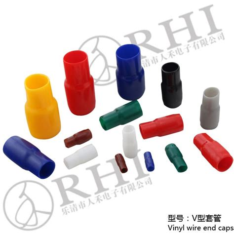 electrical wire end caps plastic terminal vinyl wire end caps soft pvc electric