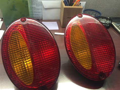 Pair C5 Euro Tail Lights Amber And Red Corvetteforum Lights For Sale
