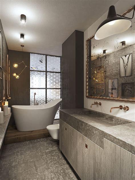 stile bagno bagno stile industriale 25 idee di arredo dal design