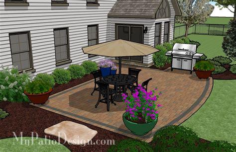 Simple Backyard Patio Designs Creative But Simple Patio Patio Designs And Ideas Patio Pinterest Patios Concrete