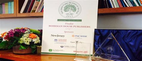 behrman house behrman house named 2015 new jersey family business of the year behrman house publishing