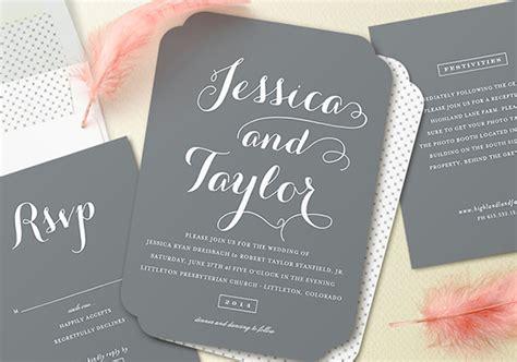 Matte Wedding Invitations