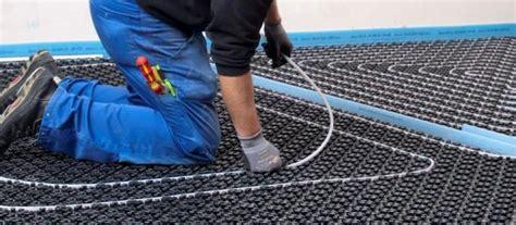 pannello per riscaldamento a pavimento impianto di riscaldamento a pavimento cosa sapere