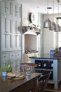 Victorian Kitchen Furniture by Modern Country Style Case Study Farrow And Ball Green
