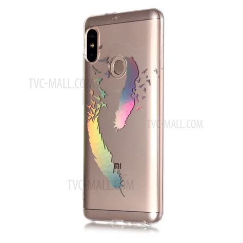Pattern Rainbow Casing Redmi Note colorful laser carving patterned tpu phone casing for
