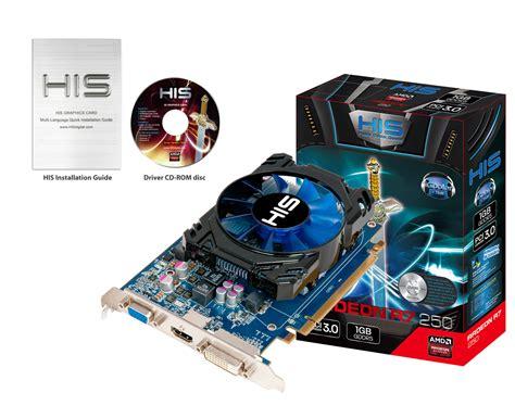 Sapphire Ati Radeon Vga R7 240 2g Ddr3 With Boost his r7 250 icooler boost clock 1gb gddr5 pci e hdmi sldvi d vga