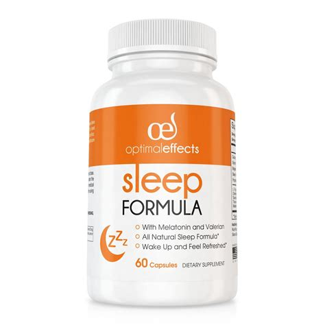 Detox Sleep Aid by Optimal Effects Natures Nutrition For Optimal Effects