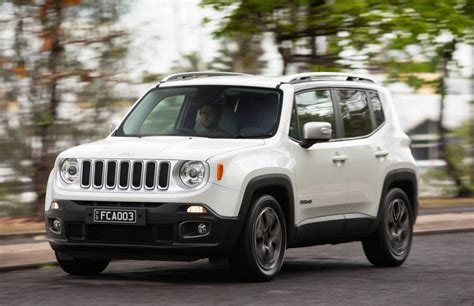 white jeep renegade jeep renegade now on sale in australia from 29 500