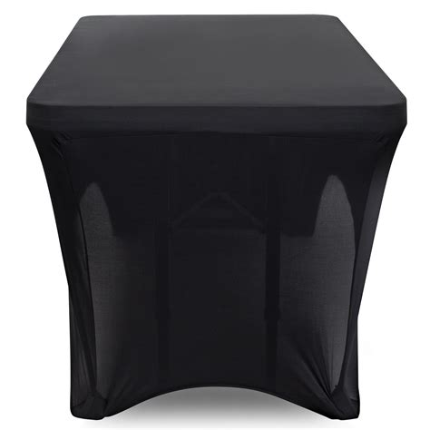 spandex tablecloth fitted rectangular stretch table cover