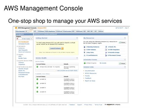 aws management console aws management console one stop shop