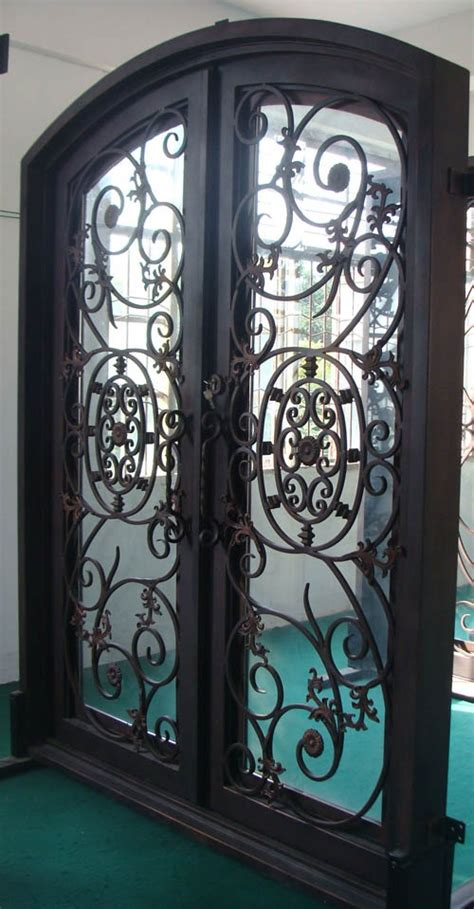 Wrought Iron Exterior Door Wrought Iron Front Doors Things I Like Pinterest