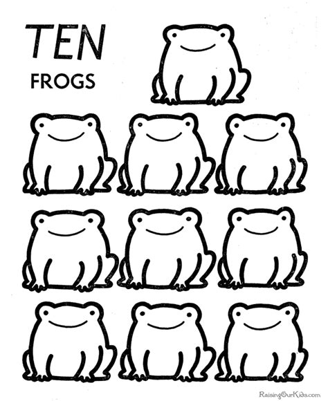 coloring pages learning numbers learn numbers printable activity for kids 017