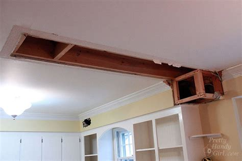 Kitchen Center Island by How To Remove A Soffit Kitchen Renovation Update
