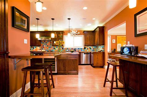 warm paint colors for kitchens pictures ideas from hgtv kitchen color combinations you can t resist decorview