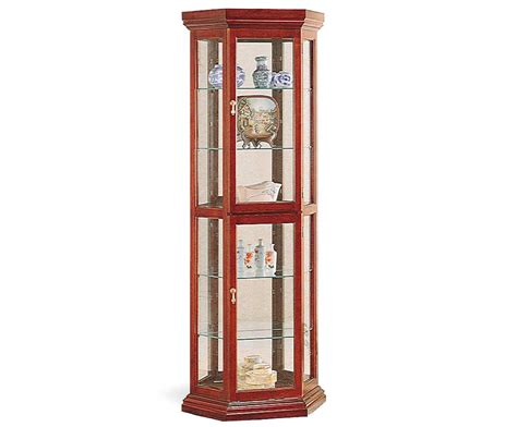 cherry curio cabinets cheap pdf how to build a glass curio cabinet plans free