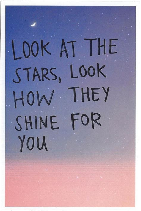 coldplay yellow lyrics look at the stars image 1219277 by awesomeguy on favim com