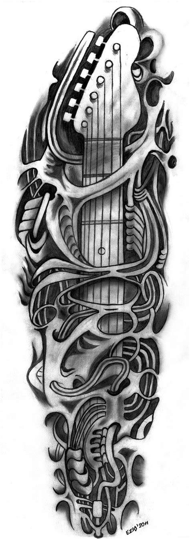 microphone tattoo vorlagen skull guitar tattoo outlines skull tattoos pinterest
