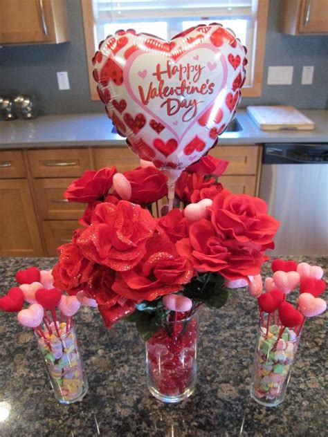 valentine table decorations frugal valentine s day decor table centerpiece total