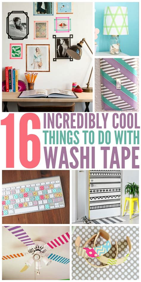 what do you use washi tape for what to do with washi tape 16 incredibly cool things to do