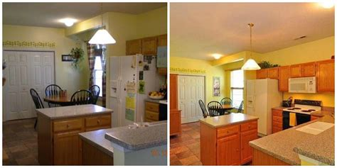 home staging before after images