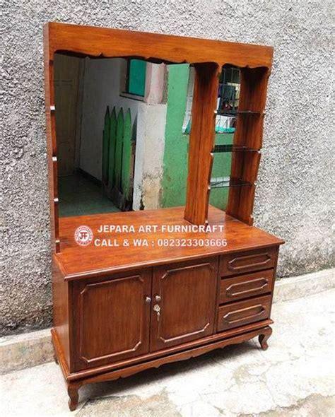 Meja Rias Kayu Murah pengumuman jual meja rias minimalis vintage jati murah