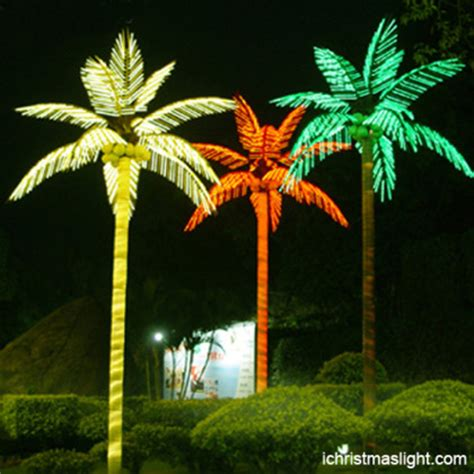 Outdoor Light Up Palm Tree Outdoor Landscape Led Lighted Palm Tree Ichristmaslight