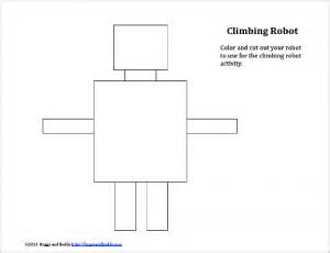 robot template stem activity for free printable gliding robot
