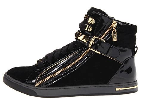 womens high top fashion sneakers womens shoes michael kors glam studded high top fashion