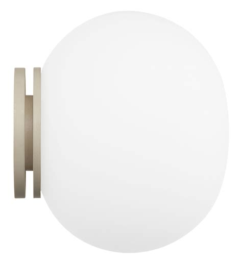 flos lighting glo ball mini glo ball wall light ceiling light white by flos