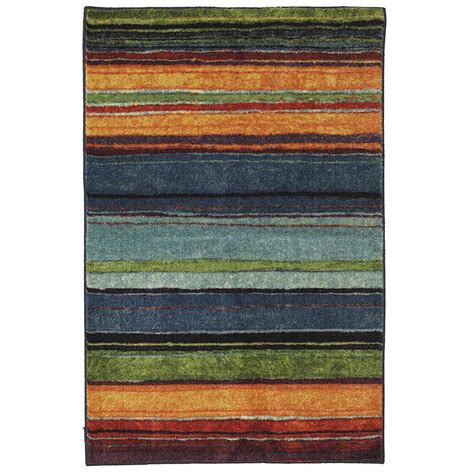 home accent rugs mohawk home rainbow multi 2 ft 6 in x 3 ft 10 in
