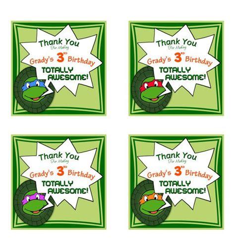 teenage mutant ninja turtles free printable thank you cards teenage mutant ninja turtles custom printable quot thank you