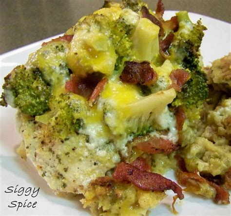 siggy spice chicken bacon broccoli ranch foil packets