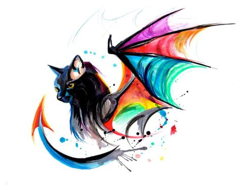 rainbow dragon tattoo by katy lipscomb writing dragons