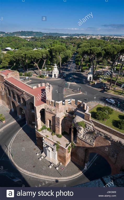 porta pinciana villa borghese villa borghese gardens and the porta pinciana gate in the
