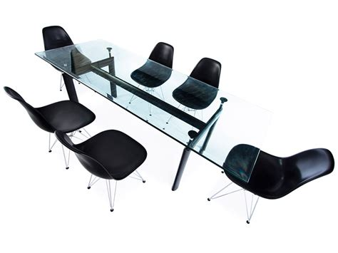 sedie le corbusier tavolo lc6 le corbusier e 6 sedie