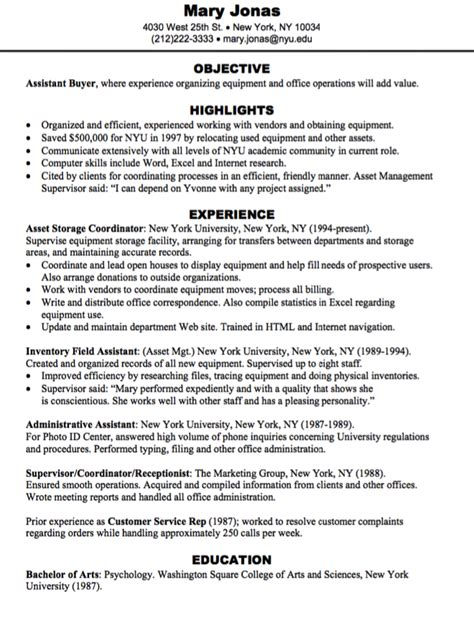 Assistant Buyer Resume by Assistant Buyer Resume Sle Http Exleresumecv Org
