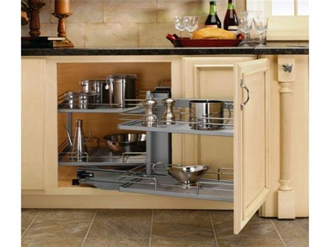 Blind Kitchen Cabinet Storage Solutions Cabinets Beds Storage Solutions For Kitchen Cabinets