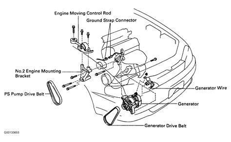 1996 toyota corolla alternator belt wiring diagrams