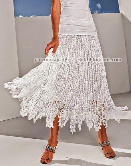 tejida al crochet con diagrama crochet y dos agujas patrones de hermosa falda tejida al crochet con patrones crochet y