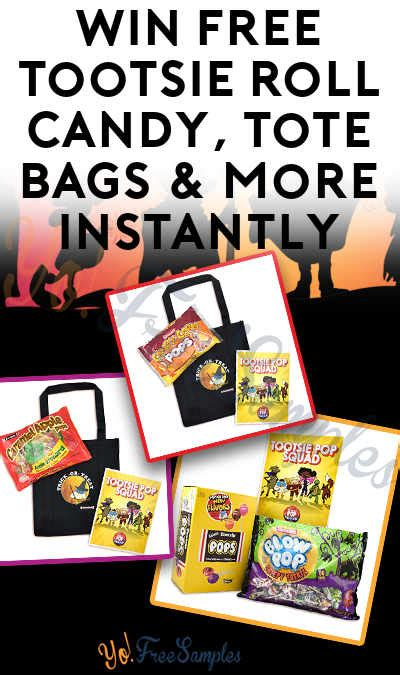 Win Free Stuff Online Instantly - win free tootsie roll candy tote bags more instantly