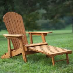 Adirondack Ottoman Coral Coast Big Reclining Wood Adirondack Chair