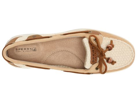 Sperry Top Sider Angelfish Sz 8 12 40 sperry top sider angelfish 2 eye cotton mesh sand ivory