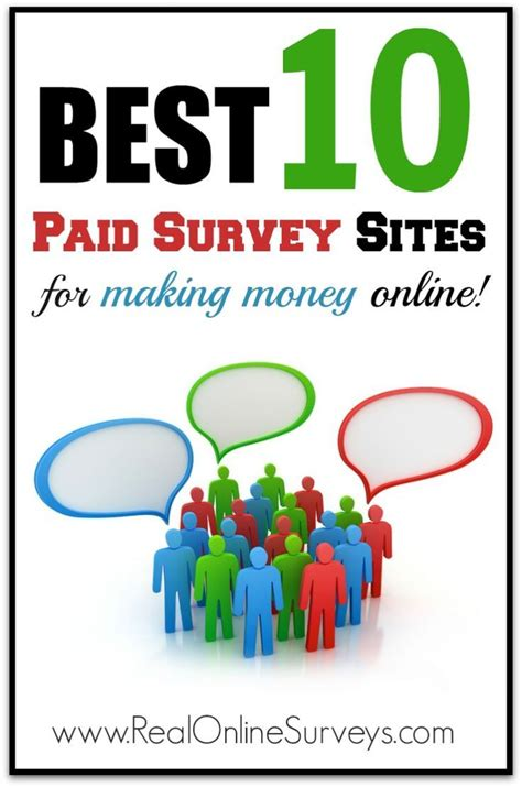 Online Survey For Money - best 10 paid survey sites for making money online money