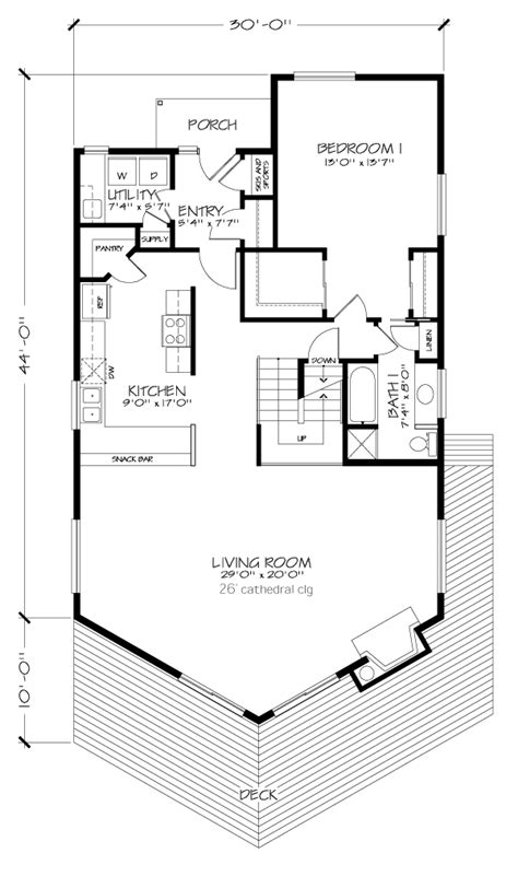 a frame house plans with basement a frame house plan 57438 storage area bath and