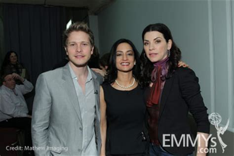 archie panjabi juliana margulies dispute photo gallery an evening with the good wife television