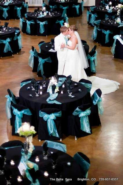black and turquoise wedding our wedding