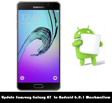 Samsung A7 Update update samsung galaxy a7 sm a700fd to android 6 0 1