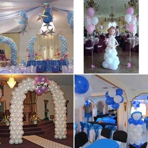 decoraciones para bautizos de ninos de decoraci 243 n para un bautizo de ni 241 o gt gt decoraci 243 n arreglos con globos para primera comunion adornos primera comunion decoracion