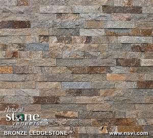 Bronze Ledgestone Natural Stone Veneers Inc