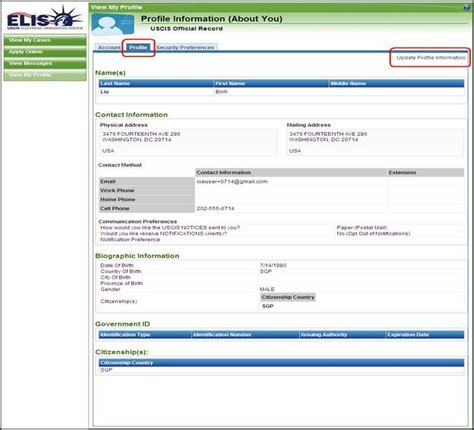pin uscis address update image search results on
